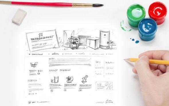 Роль дизайна сайта