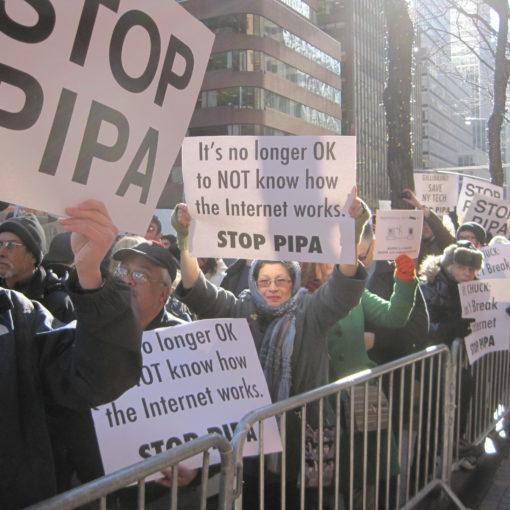 Мир против SOPA и PIPA